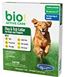 BioSpot Active Care Flea and Tick Collar for Large Dogs, 26-Inch