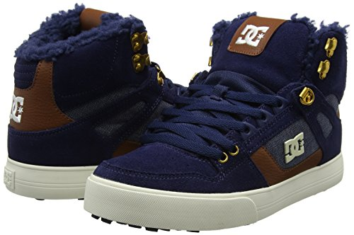 Dc Azul navy Shoes Para Hombre Wnt Spartan High Wc Zapatillas BBcFrAqw