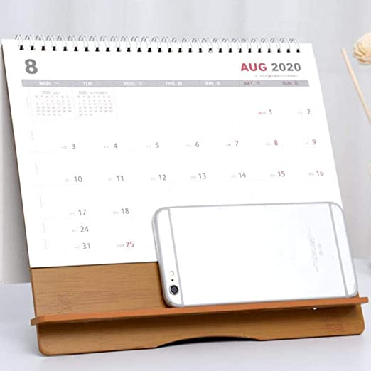 Calendario de Mesa 2019-2020,Calendario Escritorio mensual Grande ...