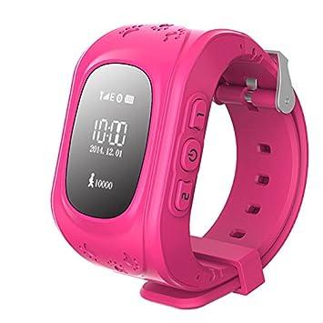 Prixton Watchii G100 - Reloj localizador infantil GPS, rosa: Amazon.es: Electrónica