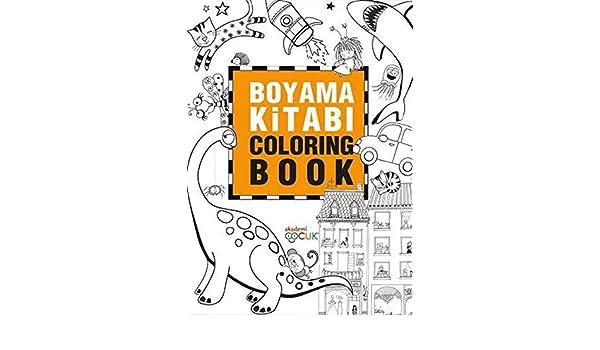 Boyama Kitabi Coloring Book Collective 9786059718530 Amazon