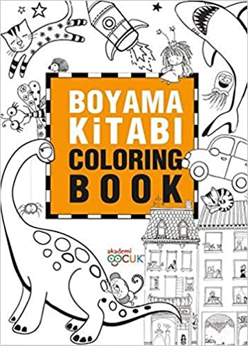 Boyama Kitabi Coloring Book Collective 9786059718530 Amazon