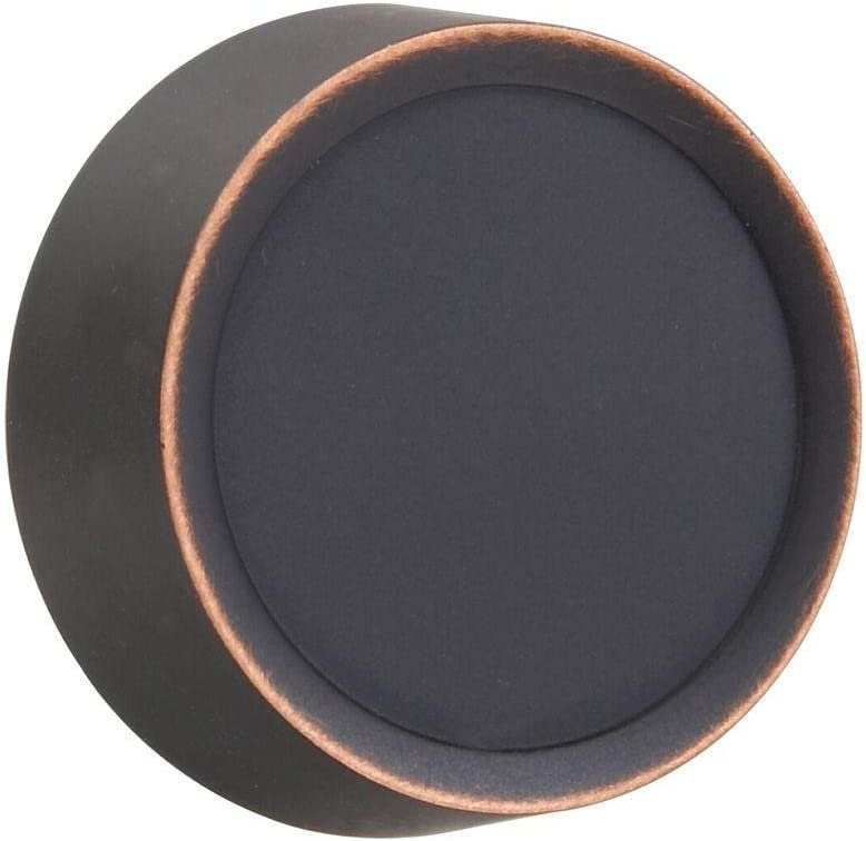 AMERELLE 947VB Dimmer Knob Wall Plate, 1 Pack by Amerelle-947VB, Metallic|Aged Bronze