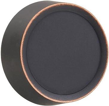 Varilight WYD4.BZ Urban Brushed Bronze 4 Gang Dimmer Plate Only Dimmer Knobs
