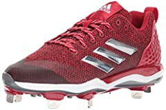 Built for power in the batter's box plus speed on the field, these women's baseball cleats are for the all-around player. The breathable air mesh upper features an abrasion-resistant toe cap, and the molded heel and heel clip provide optimal ...