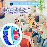Themoemoe Kids Smartwatch, Kids GPS Tracker Watch Smart Watch Phone for Kids SOS Camera Game Compatible with 2G T-Mobile…