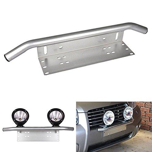 Triclicks Universele aluminium bumperhouder voor kentekenplaathouder, nummerplaathouder, werklamphouder voor auto…