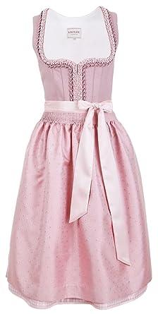 7d3c5b4c49d4 Krüger Collection Damen Dirndl Rosa - Rosé 70cm - Romantisches ...
