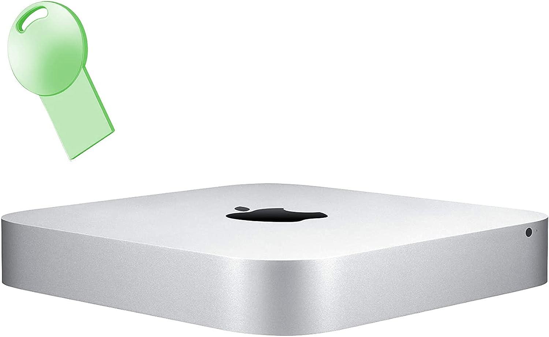 (Renewed) Apple Mac Mini Desktop Computer, Intel Core i5 Processor 2.6GHz, 8GB RAM, 1TB HDD, 802.11AC WiFi, Bluetooth, RJ45, Mini Displayport, USB 3.1, HDMI, 2.9lb, Mac OS, Besvvy 64GB USB Flash Drive
