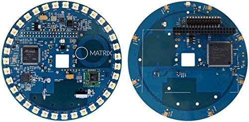 (MATRIX Creator - Raspberry Pi HAT. An FPGA-driven IoT add-on Board Loaded with Sensors, 802.15.4 Radios and 8 Microphone Array)
