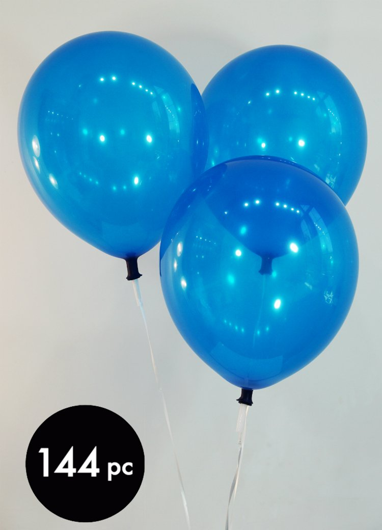 Creative Balloons 16'' Latex Balloons - Pack of 144 Piece - Decorator Navy Blue