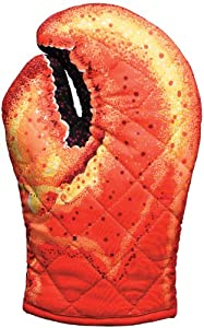 Boston Warehouse Novelty Light Duty Oven Mitt, Lobster Claw from Boston Warehouse