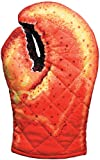 Boston Warehouse Lobster Claw Oven Mitt, Quilted Cotton, Designed for Light Duty Use