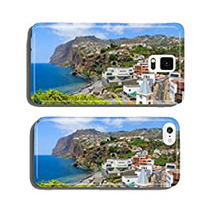 View of Cabo Girao cliff on coast of Madeira island, Portugal cell phone cover case Samsung S6