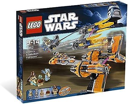 Amazon Com Lego Star Wars Anakin S Sebulba S Podracers 7962 Toys Games