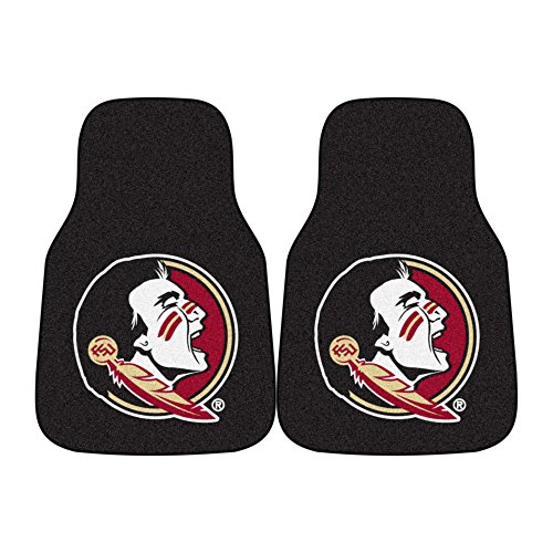 (Fanmats NCAA Florida State University Seminoles Nylon Face Carpet Car Mat)