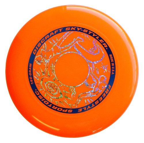 4 opinioni per Discraft 802010-007- Sky Styler Frisbee- 160g Arancione
