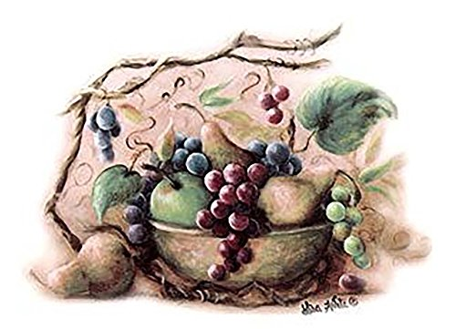 Grape Bowl Vines Vineyard Blessings Item # 393 Waterslide Ceramic Decals By The Sheet (1 3/4