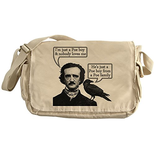 CafePress - Poe Boy - Unique Messenger Bag, Canvas Courier Bag by CafePress