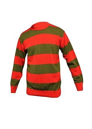 Ff Girls Kids Childrens Boys Freddy Krueger Red Green Stripe