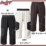 Rawlings ローリングスBLACK LABEL トレーニングパンツ 七分丈 野球 ベースボール AOP6S02 LGRYライトグレー