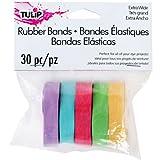 Tulip 31627 Rubber Bands, 30-Piece
