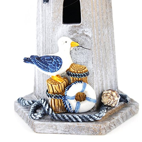 Seabird Wooden Lighthouse 10 High Nautical Themed Rooms Lighthouse Home Decor Kitchen In The