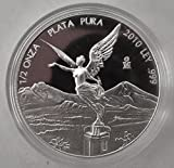 2010 Mexican Silver Proof Libertad Half