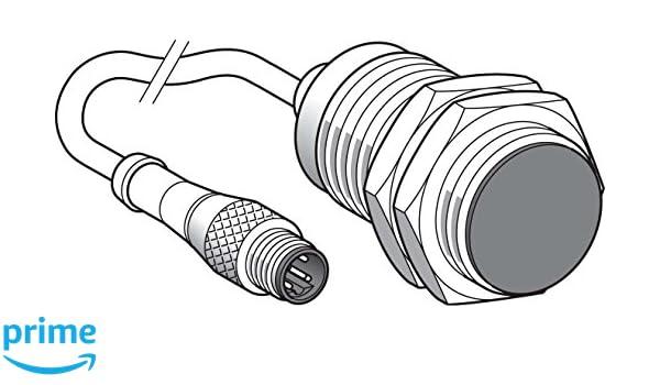Schneider Electric XS1M30KPM40LD Detector Inductivo de Metales XS1, Cilíndrico M30, Integrable, 10 mm Rango Nominal, 1O / 1F, M 12, 60 mm Longitud, ...