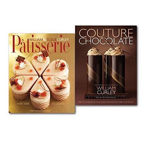 William Curley A Masterclass Couture Chocolate and Patisserie 2 Books Collection Set