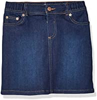 Amazon Brand - Spotted Zebra Girls Knit Denim Skirt