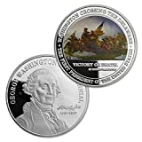 US President Challenge Coin George Washington 1732-1932 Crossing The Delaware Collectible Coin