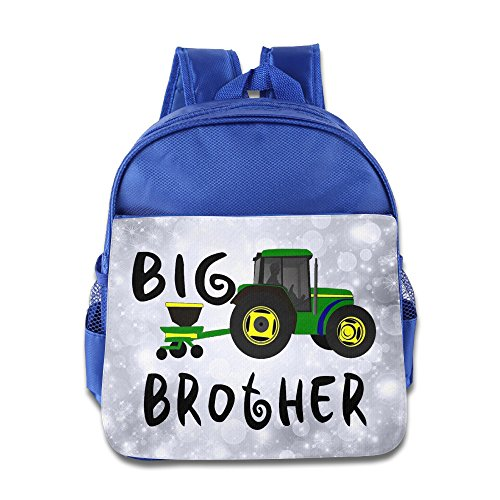 Price comparison product image OurLove I'm Going A Big Brother Boy Bookbag Backpack Size Size Key RoyalBlue