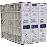 Heating, Cooling & Air Trion Air Bear 259112-102 (3 Pack) Pleated Furnace Air Filter 20x25x5 MERV 11