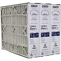 Heating, Cooling & Air Trion Air Bear 259112-102 (3 Pack) Pleated Furnace Air Filter 20x25x5 MERV 11