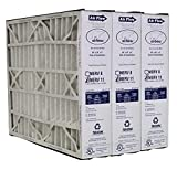 Heating, Cooling & Air Trion Air Bear 259112-102 (3 Pack) Pleated Furnace Air Filter 20'x25'x5' MERV 11