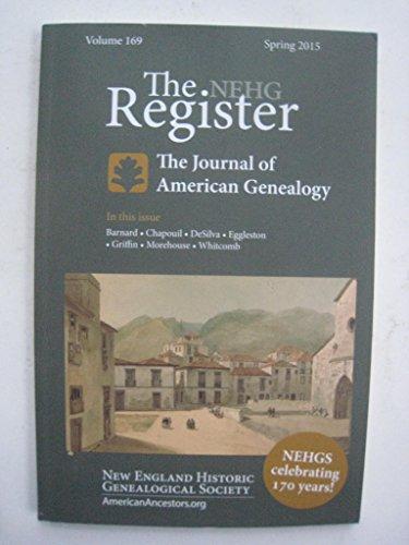 The NEHG Register Volume 169 Spring 2015