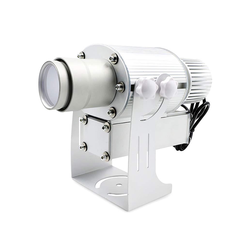 tutto in alta qualità e prezzo basso Proiettore HD personalizzato da 50 W con LED, zoom manuale, manuale, manuale, pubblicità con illuminazione impermeabile (colore   Bianca)  vendite calde