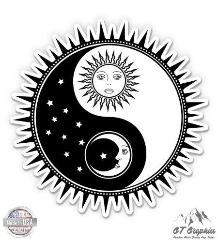 GT Graphics Yin Yang Sun Moon - 3