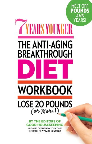 51i1xX3bryL - 7 Years Younger The Anti-Aging Breakthrough Diet Workbook