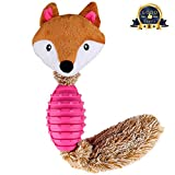 BAOTATUI Dog Chew Toys - Interactive Durable Squeaky Plush Dog Toy for Tug of War with Your Small Medium and Large Dogs, Puppy Teething Toys - Effective Tooth Cleaning