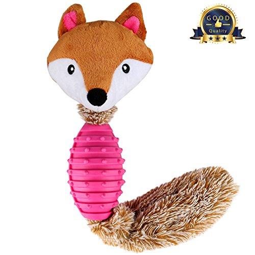 BAOTATUI Dog Chew Toys - Interactive Durable Squeaky Plush D
