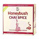 Honeybush Chai Spice Tea by TopQualiTea | 80 Tea Bags Premium 250g, Rich in Antioxidants & Caffeine Free, Gluten Free, Organic. Herbal Tea with Unique Gourmet Taste