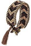 Best Fashion Destination Friend Jelly Bracelets - Trendy Fashion Jewelry Chevron Pattern Accent Tassel End Review