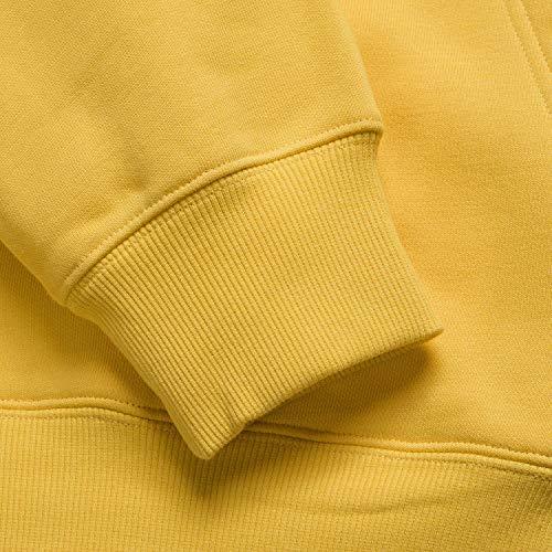 Men's Wip Carhartt giallo Pullover Hooded Sweatshirt cappuccio Primula con wrrdqI