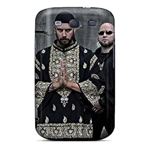 Scratch Resistant Hard Phone Case For Samsung Galaxy S3 With Custom Lifelike Grave Band Pattern JohnPrimeauMaurice