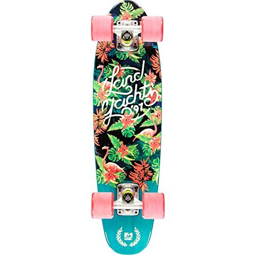 - Landyachtz Mini Dinghy Floral Complete Mini Cruiser Longboard Skateboard 2016