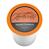 Hamilton Mills Toasted Cinnamon Coffee Pods, 2.0 Keurig K-Cup Brewer Compatible, 40 Count