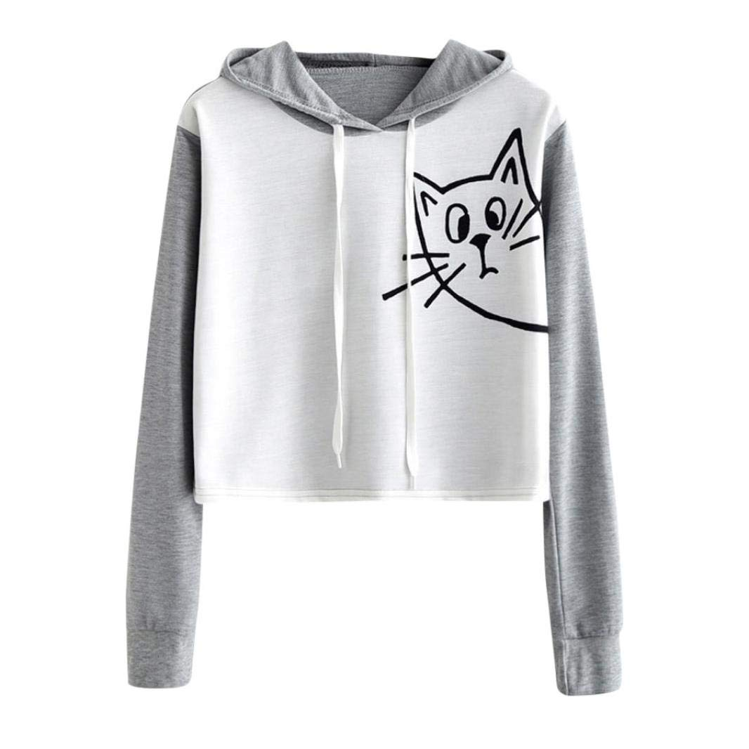b12099f27 ❤️Comfortable material, suitable for a variety of occasions. ❤️Features  Short Length, Adjustable drawstring Hoodie, Long Sleeves, Funny Printing.