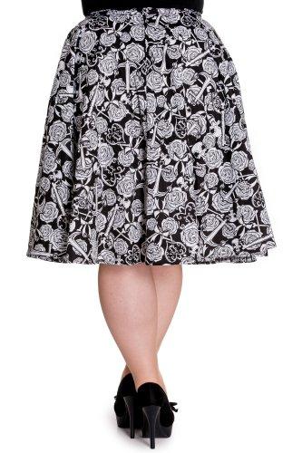 Bunny Rock Arcadia Skirt 5292 brillante blanco